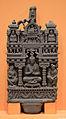 Buddha Inside Palace - Schist - ca 2nd Century CE - Gandhara - Loriyan Tangai - ACCN 5090-A23485 - Indian Museum - Kolkata 2016-03-06 1542.JPG