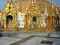 Buddha Statues Around Shwedagon Pagoda by TT.JPG