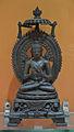 Buddha in Dharmachakra Mudra - Bronze - ca 9th-10th Century CE - Pala Period - Nalanda - ACCN 9440-A24784 - Indian Museum - Kolkata 2016-03-06 1729.JPG