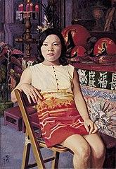 Buddhism Lady