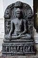 Buggha in Bhumisparsha Mudra - Circa 10th-11th Century AD - Bihar - Indian Museum - Kolkata 2012-11-16 2061.JPG