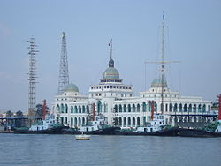 Suez Canal Authority building in 2008