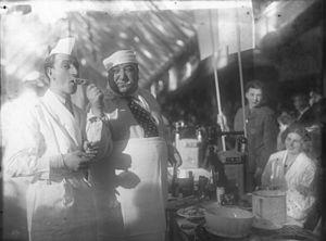 Kurt Gerron - Comedy duo Sig Arno and Kurt Gerron, Berlin 1931