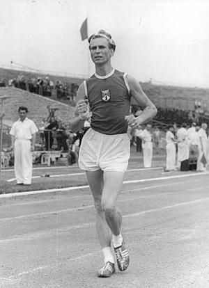 Kurt Sakowski - Kurt Sakowski at the 1957 German Championships in Berlin