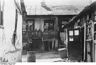 History of the Jews in Bessarabia - Chişinău ghetto, August 1941