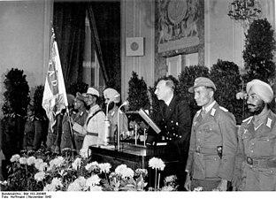 Bundesarchiv Bild 183-J08486, Berlin, Feier der Zentrale Freies Indien