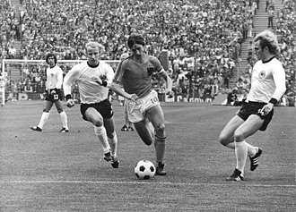 Germany national football team - 1974 FIFA World Cup Final on 7 July 1974, in Munich (Olympiastadion).