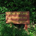 Thumbnail image of sign for Burches Run WMA