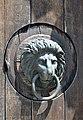 Burg Neulengbach, lion door knocker.jpg