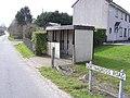 Bus shelter at Gortnagross Road - geograph.org.uk - 141477.jpg