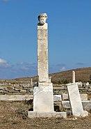 Bust of Hermes, Delos 01