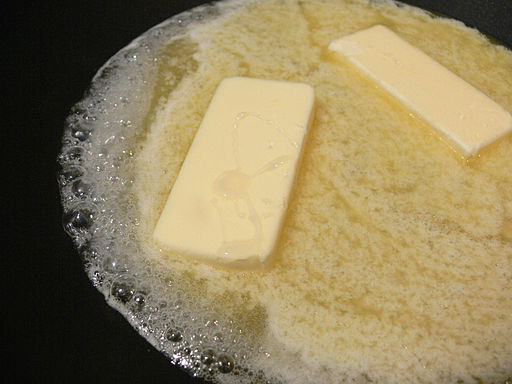 Butter melt with sugar