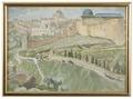By Jerusalem. Study (Anna Boberg) - Nationalmuseum - 20533.tif