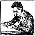 C. D. Batchelor at desk.jpg