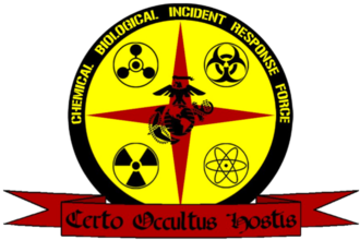 Chemical Biological Incident Response Force - CBIRF insignia