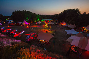 Chaos Communication Camp - The Fairydust at the CCCamp15-site in Mildenberg