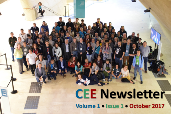 CEE Newsletter - cover photo - Vol 1, Issue 1, October 2017.png