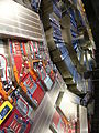 CERN, recreación con espejos, exposición, Ginebra, Suiza, 2015 04.JPG