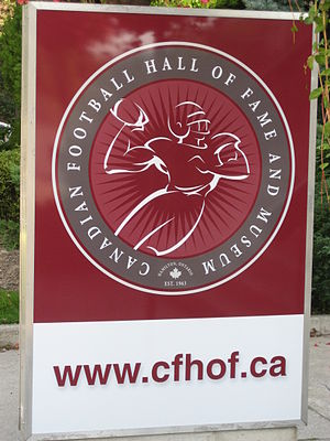 Canadian Football Hall of Fame - Image: CFL Hamilton