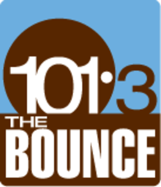 "CJCH-FM - ""101.3 The Bounce"" logo (2008-2016)"