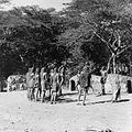 COLLECTIE TROPENMUSEUM Masai krijgers tijdens een dans TMnr 20014328.jpg