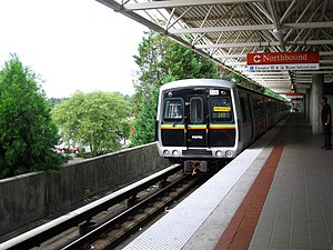Metropolitan Atlanta Rapid Transit Authority - MARTA CQ310 118 at Chamblee Station
