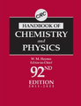 CRC Handbook of Chemistry and Physics 92nd Edition.png