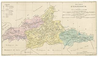 Erzurum Vilayet Ottoman province