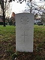 CWGC graves at Cathays Cemetery, December 2020 01.jpg