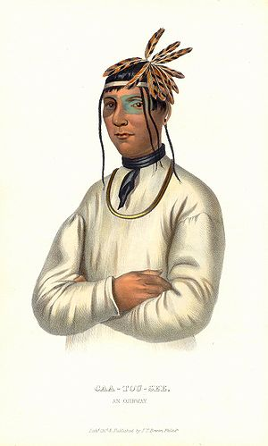 History of the Indian Tribes of North America - Image: Caa tou see