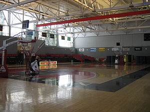 Cabot Center - Inside of the Cabot Center, circa 2008