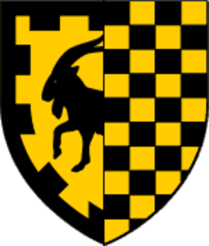 County of Urgell - Coat of arms of the second dynasty