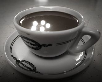 Coffee in Italy - A cup of Italian coffee