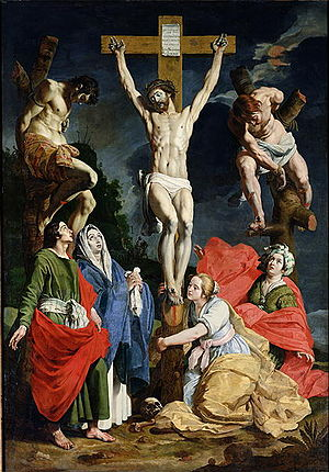 Abraham Janssens - The crucifixion