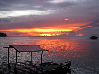 Camiguin - Sunset at Camiguin