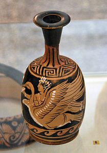 Campanian red-figure Lekythos by the Ixion Painter Antikensammlung Kiel B 774.jpg
