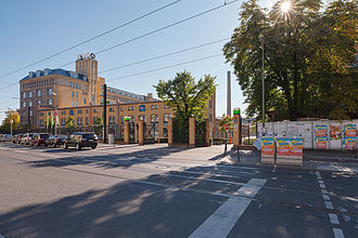 HTW Berlin - Entrance area of campus Wilhelminenhof