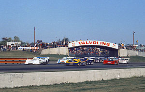 Can-Am - The Can-Am race at Edmonton International Speedway in 1973