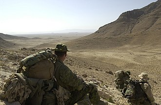Canada's role in the War in Afghanistan - Image: Canadian soldiers in Afghanistan