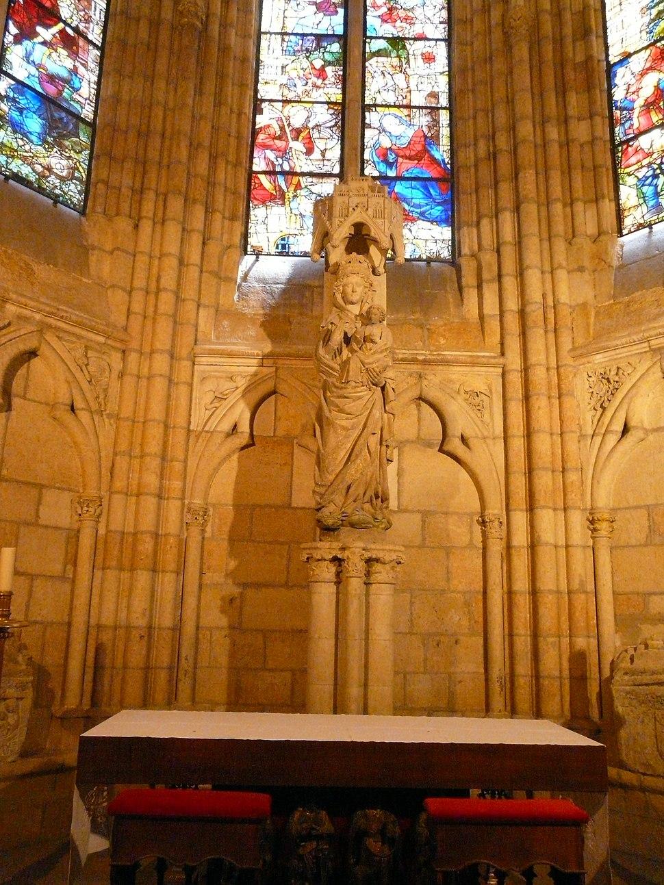 Capilla de la Virgen Blanca, catedral de León