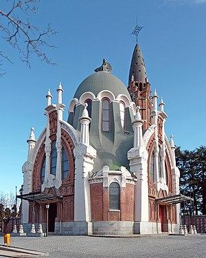 Cementerio de la Almudena - Chapel.