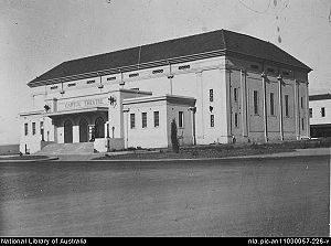William James Mildenhall - Image: Capitol Theatre Manukapic 583Alb 827
