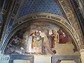Cappella delle Reliquie 02, incontro alla porta d'oro di beccafumi.JPG