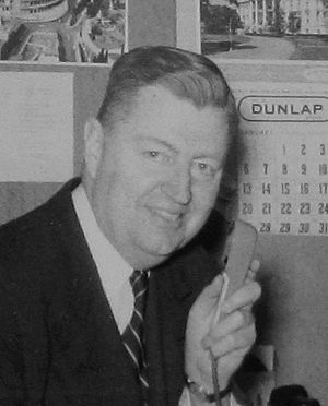 Carl McIntire - Carl McIntire in his office, January 1957