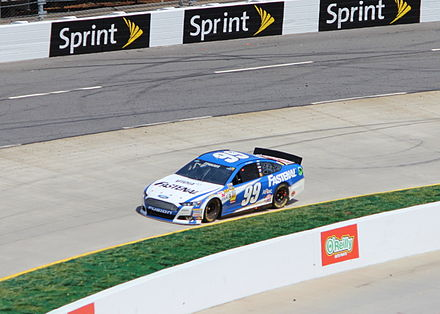 Edwards during the 2013 STP Gas Booster 500 Carl Edwards, 2013 STP Gas Booster 500.JPG