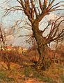 Carl Jutz II Herbstliche Landschaft mit Dorf 1903.jpg