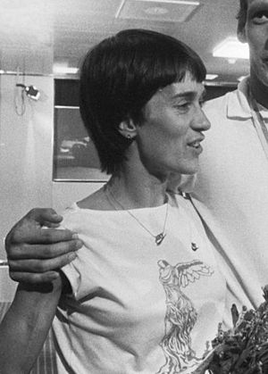 Carla Beurskens - Carla Beurskens in 1982