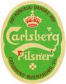 Carlsberg Pilsner 1904 label by Thorvald Bindesboll.png