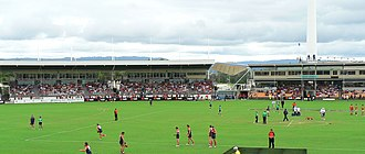 Carrara Stadium - The stadium prior to redevelopment