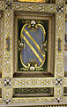 Casa buonarroti, camera degli angioli, soffitto di michelangelo cinganelli e aiuti, 1622-23, 07 stemma buonarroti.JPG